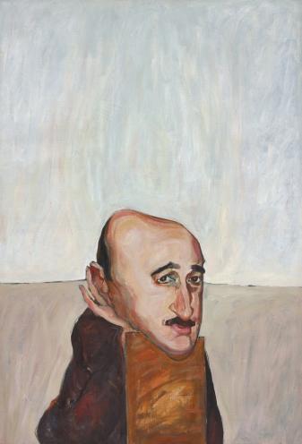 Munif al-Razzaz_1965_Marwan_130x89cm_oil on canvas