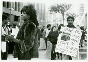 Marsha as activist