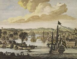 Dutch West India Company ships in Chittagong