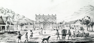 Greenmarket Square, Cape Town. By Johannes Rach, 1764