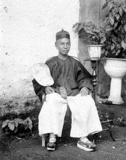 Chinese man in Batavia (Date unknown)