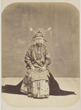 A Chinese bride in Batavia (circa 1800s)