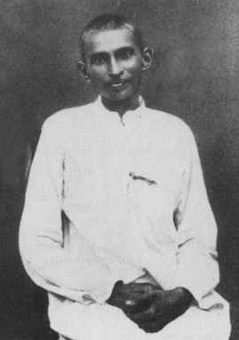 Gandhi as a satyagrahi in South Africa, circa 1913