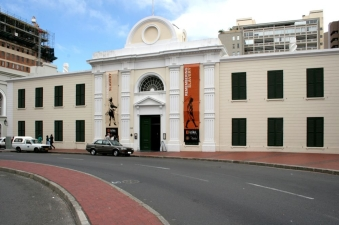 Front of Slave Lodge, Cape Town, South Africa