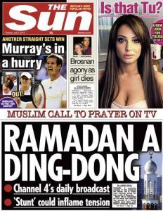 Sun - Ramadan headline