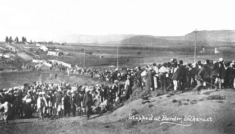 Protest march organised by Gandhi, 1913