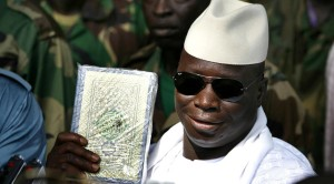 President Jammeh of The Gambia