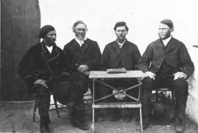 First council of the Rehoboth Basters, 1872, one of many mixed-race communities in South Africa.