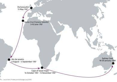 Australian convict voyages