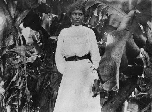 A South Sea Islander woman at Farnborough, Queensland, ca. 1895