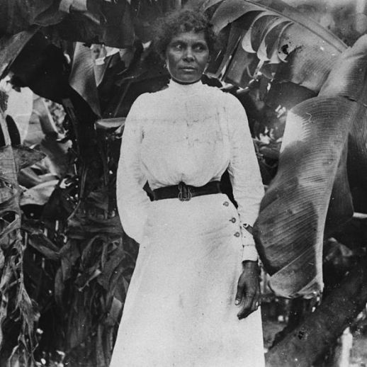 A South Sea Islander woman at Farnborough, Queensland, ca. 1895