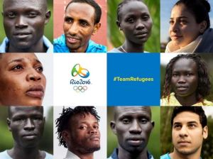 Refugee team