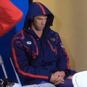 Michael Phelps' Game Face