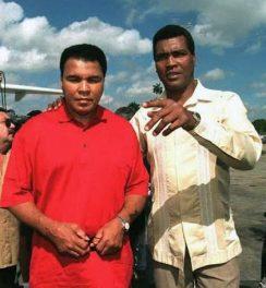 Muhammad Ali and Teófilo Stevenson