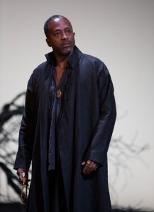 Clarence as Albany in King Lear