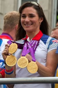 cyclist-sarah-storey-poses-with-her-paralympic-gold-medals