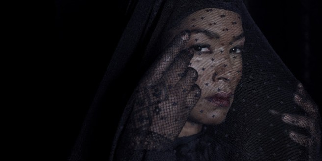 AMERICAN HORROR STORY: COVEN -- Pictured: Angela Bassett as Marie Laveau --