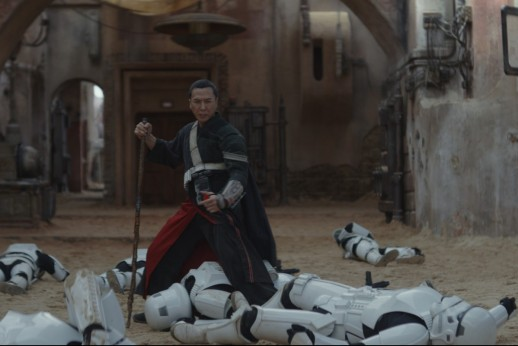 Donnie Yen as Chirrut Îmwe