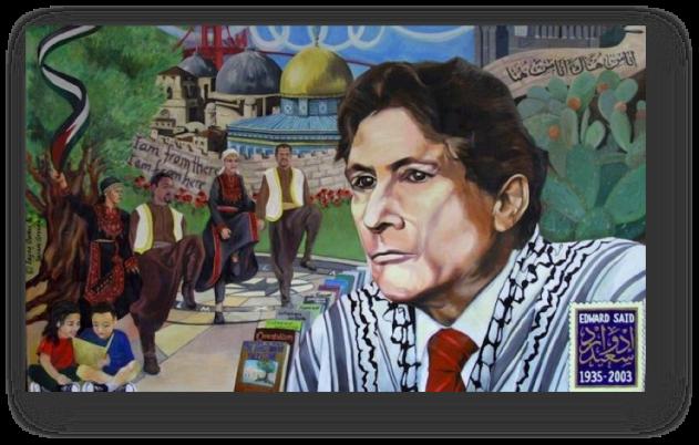 Postcolonial scholar, Edward Said