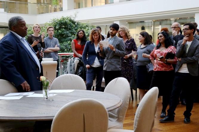 Media Diversified Experts Directory launch by Wasi Daniju
