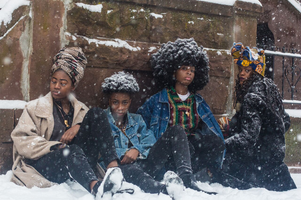 4 Queer African Women - Shot in USA © Mikael Owunna
