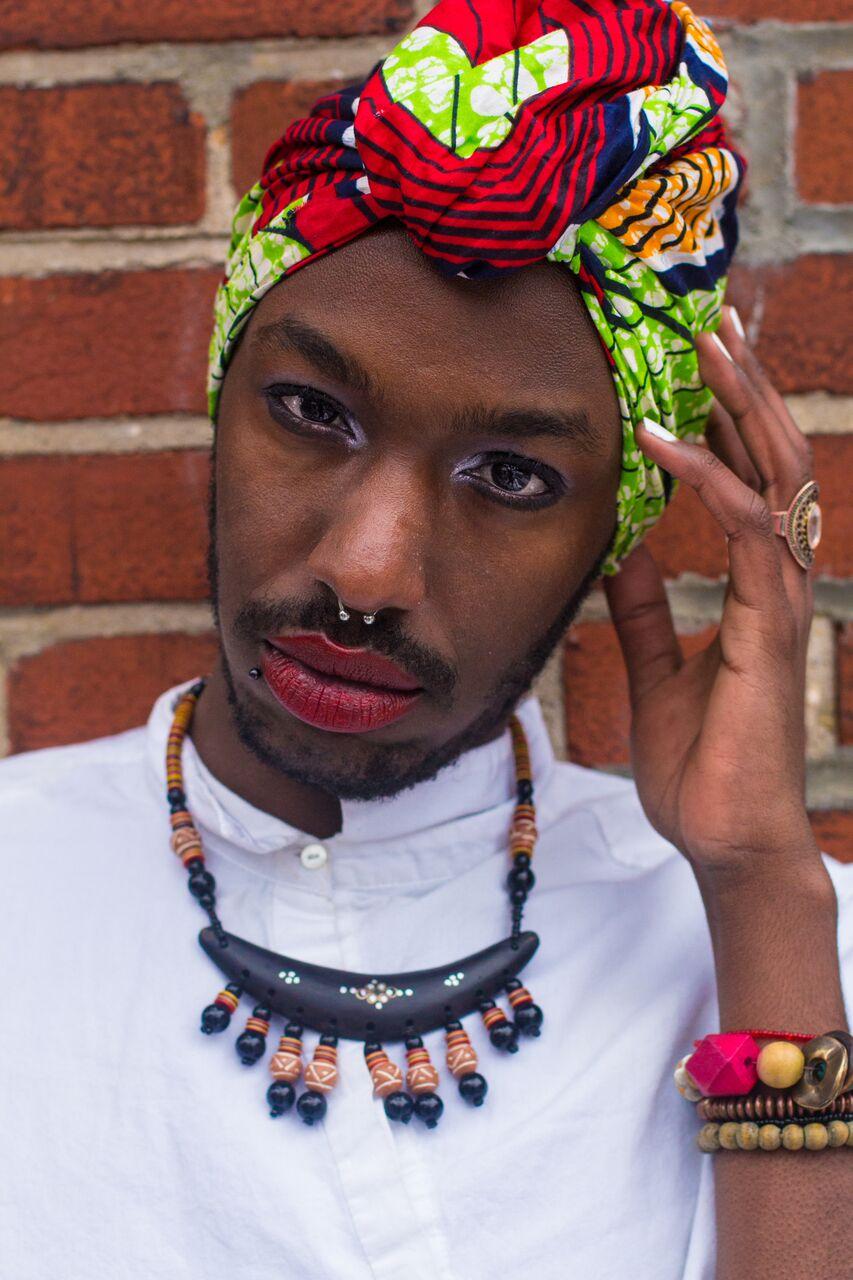Brian - Queer Rwandan - Shot in Canada © Mikael Owunna