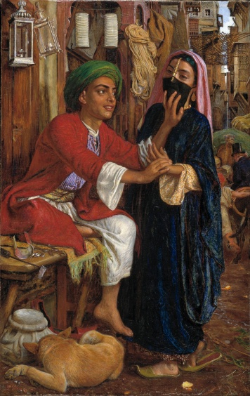 William_Holman_Hunt_-_The_Lantern_Maker's_Courtship,_A_Street_Scene_in_Cairo_-_Google_Art_Project