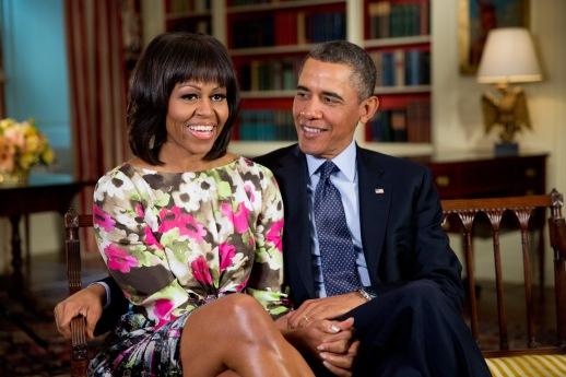 Barack and Michelle Obama (Wikimedia)
