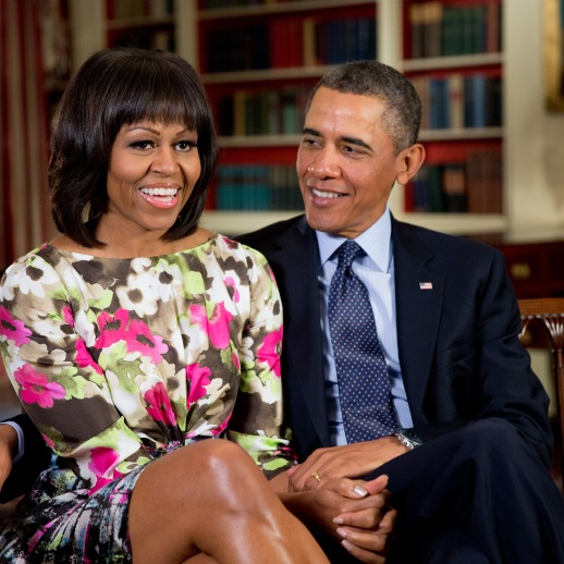 Barack and Michelle Obama (Wikimedia)