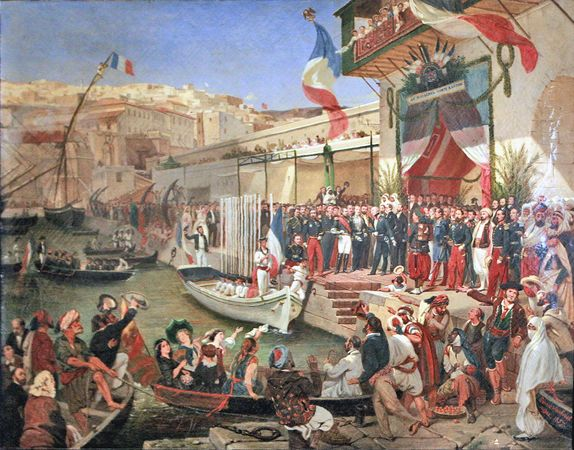 Arrival_of_Marshal_Randon_in_Algier-Ernest-Francis_Vacherot_mg_5120